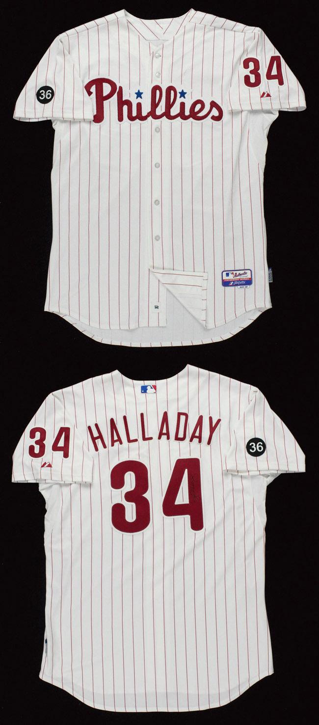 Blog The Phillies Collector X8 Kendrick T Shirt Size M 2010 G U Roy Halladay Jersey Via Huntauctionscom