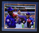 "*Mike Tyson, Doc Gooden, and Darryl Strawberry Signed 16""x20"" Photograph (framed)"