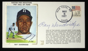 Ray%20Dandridge%20signed%20Hall%20of%20Fame%20Induction%20commemorative%20cachet
