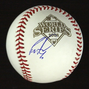 Scarce%20Ryan%20Howard%20single%20signed%202008%20World%20Series%20baseball