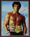 "Sylvester Stallone signed 11""x14"" photograph (framed)"