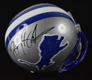 *Barry Sanders Signed Detroit Lions Replica Helmet
