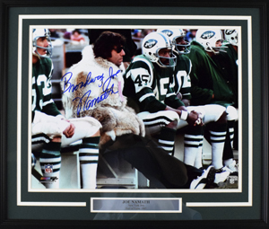 %22Broadway%22%20Joe%20Namath%20Signed%2016%22x20%22%20Photograph%20%28framed%29