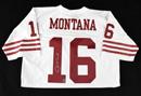 Joe Montana Signed Mitchell & Ness San Francisco 49ers Jersey