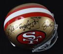 """""""The Catch"""" Signed San Francisco 49ers Replica Helmet"""