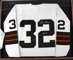 %2AJim%20Brown%20Signed%20Mitchell%20%26%20Ness%20Cleveland%20Browns%20Jersey%20%28framed%29