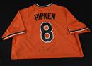 *Cal Ripken, Jr. Signed Orioles Jersey