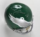 """Ron Jaworski Signed Full Size Replica """"Throwback"""" Philadelphia Eagles Helmet"""