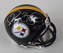 *Jerome Bettis Signed Mini Helmet