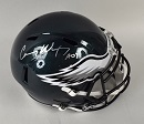 Carson Wentz Signed Riddell Speed Replica Helmet
