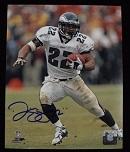 Duce Staley Signed 8x10 Photo