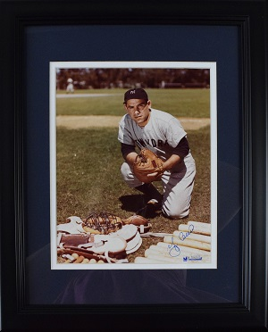 Yogi%20Berra%20Signed%208x10%20Photo%20%28framed%29