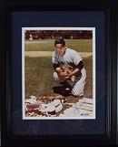 Yogi Berra Signed 8x10 Photo (framed)