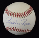 Pee Wee Reese Signed Baseball