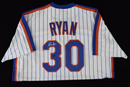 Nolan Ryan Signed NY Mets Majestic Jersey