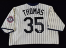 *Frank Thomas Signed White Sox Majestic Jersey