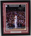 "Roy Halladay ""NH 10-6-10"" Signed Photo (framed)"