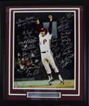 "1980 Phillies World Champions Team Signed 16""x20"" Photograph (framed)"