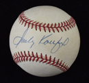 *Sandy Koufax Signed Baseball