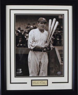 %2ABabe%20Ruth%20Cut%20Autograph%20Display%20%28framed%29