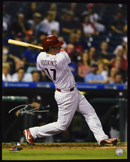 "Rhys Hoskins Signed 16""x20"" Photograph (framed)"