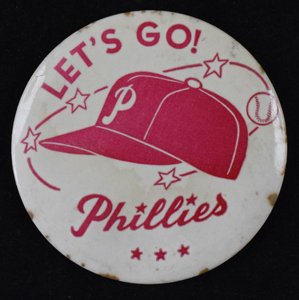 Let%27s%20Go%21%20Philadelphia%20Phillies%20pin%20c%2E1960%27s