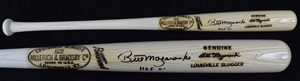 Bill%20Mazeroski%20signed%20bat%20inscribed%20%22HOF%2001%22