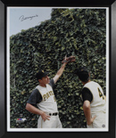 "Huge Bill Mazeroski Signed ""Pointing"" 1960 WS Home Run Photograph (framed)"