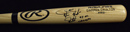 "Darren ""Dutch"" Daulton Signed Rawlings Bat Inscribed ""93 NL Champs"""
