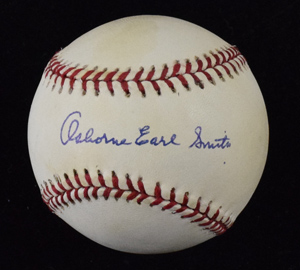 Ozzie%20Smith%20Full%20Name%20Signed%20Baseball