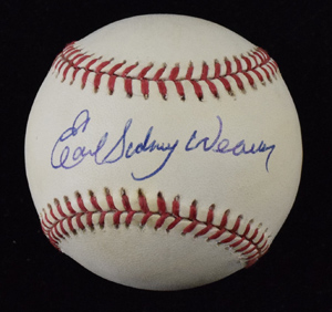 Earl%20Weaver%20Full%20Name%20Signed%20Baseball