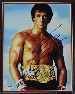 Sylvester%20Stallone%20signed%2011%22x14%22%20photograph%20%28framed%29