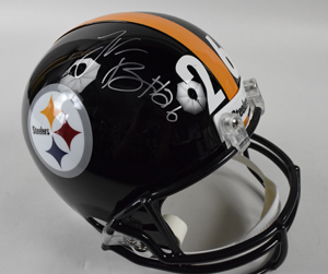 Le%27Veon%20Bell%20Signed%20Pittsburgh%20Steelers%20Replica%20Helmet