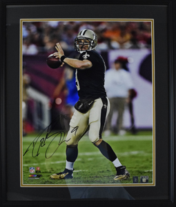 Drew%20Brees%20Signed%2016%22x20%22%20Photograph%20%28framed%29