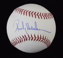 Rickey Henderson Signed Baseball