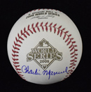 Charlie Manuel Signed 2008 World Series Baseball