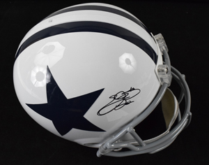 %2AEmmitt%20Smith%20Signed%20Dallas%20Cowboys%20Replica%20Helmet