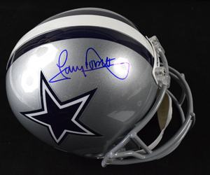 %2ATony%20Dorsett%20Signed%20Dallas%20Cowboys%20Replica%20Helmet