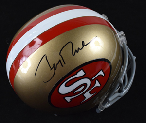 %2AJerry%20Rice%20Signed%20San%20Francisco%2049ers%20Replica%20Helmet