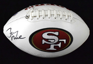 %2AJerry%20Rice%20Signed%20SF%2049ers%20Logo%20Football