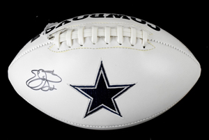 %2AEmmitt%20Smith%20Signed%20Dallas%20Cowboys%20Logo%20Football