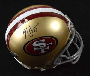 Navaro%20Bowman%20Signed%20San%20Francisco%2049ers%20Mini%20Helmet