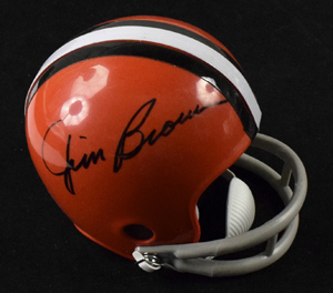 Jim%20Brown%20Signed%20Cleveland%20Browns%20Mini%20Helmet