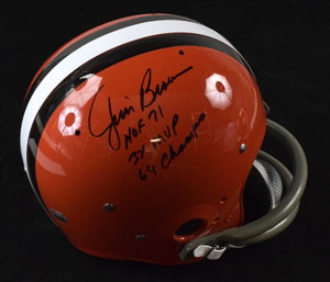 Jim%20Brown%20Statistics%20Signed%20Cleveland%20Browns%20%22Throwback%22%20Style%20Replica%20Helmet