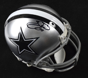 %2AEmmitt%20Smith%20Signed%20Dallas%20Cowboys%20Mini%20Helmet