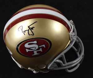 %2ARonnie%20Lott%20Signed%20San%20Francisco%2049ers%20Mini%20Helmet