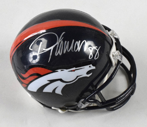 %2ADemaryius%20Thomas%20Signed%20Denver%20Broncos%20Mini%20Helmet