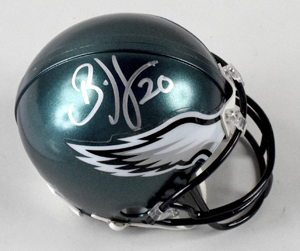 %2ABrian%20Dawkins%20Signed%20Philadelphia%20Eagles%20Mini%20Helmet