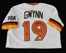 "*Limited Edition Tony Gwynn Signed M&N Jersey Inscribed ""Mr. Padre"""