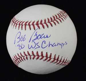 Bob%20Boone%20Signed%20Baseball%20Inscribed%20%2280%20WS%20Champs%22